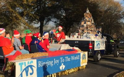 TVS Receives First Place for Float in Brevard Christmas Parade